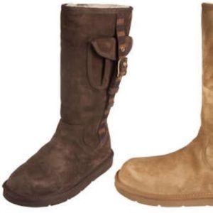 Ugg Cargo ll Boots Brown Buckle Pocket Sz 7